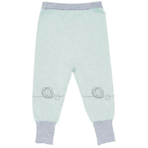 merino kids leggings gruen