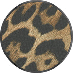 PopGrip Vegan Leather Leopard, PopSockets
