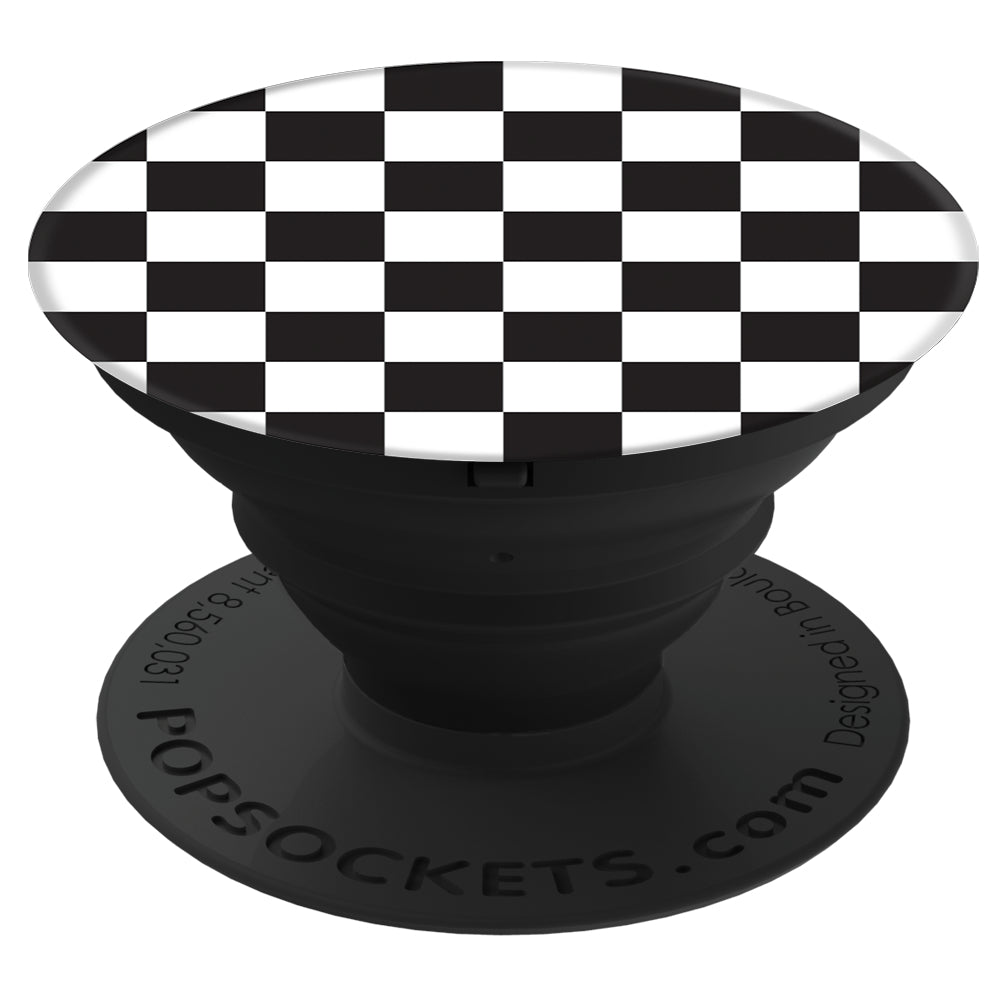 PopGrip Checker Black