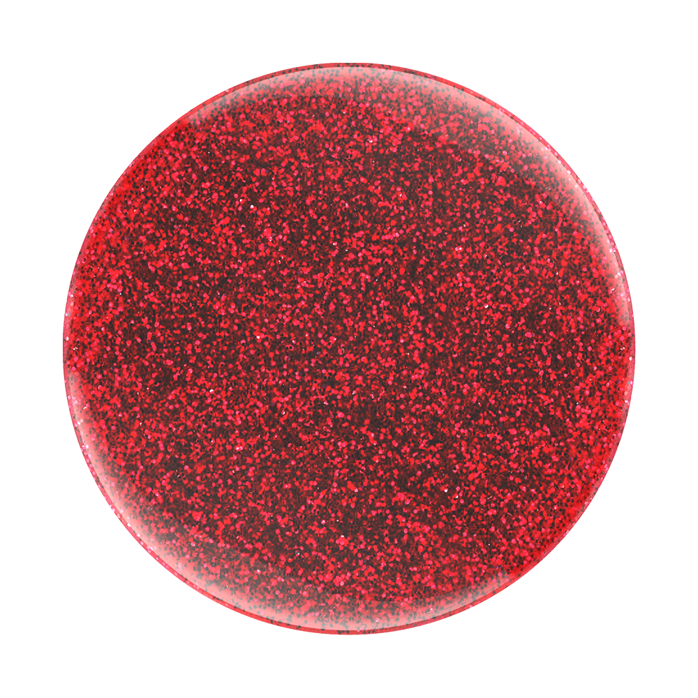 PopGrip Glitter Red, PopSockets