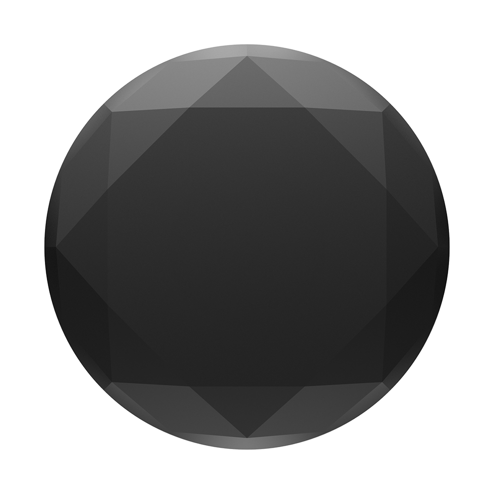 PopGrip Metallic Diamond Black, PopSockets