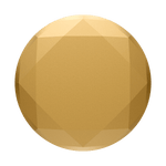 PopGrip Metallic Diamond Medallion Gold, PopSockets