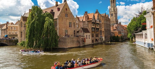 Bruges, destination accessible en train