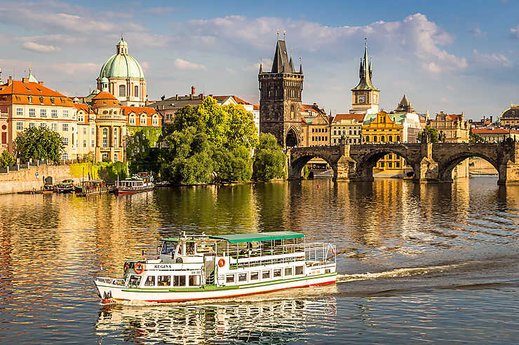 Prague, voyager en Europe en train