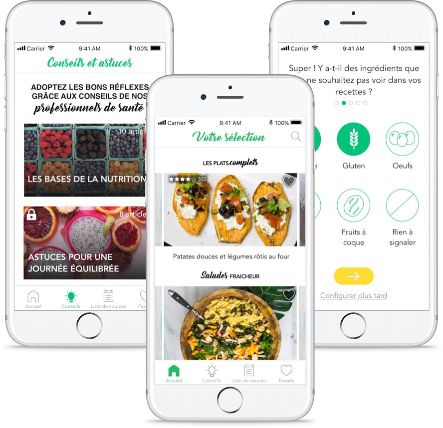 The crush of the week: Vegg'up, the app to become vegetarian