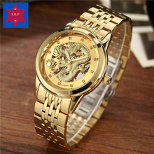 Load image into Gallery viewer, Golden Dragon Luxury Watch