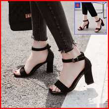 Load image into Gallery viewer, Lotlot Block Heel Sandals