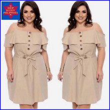 Load image into Gallery viewer, Jean Dress Plus Size