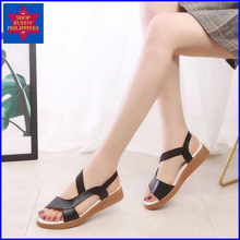 Load image into Gallery viewer, Odette Flat Sandals