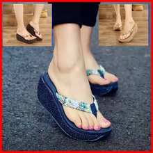 Load image into Gallery viewer, Shiela Wedge Sandals
