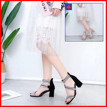 Load image into Gallery viewer, Joydy Block Heel Sandals