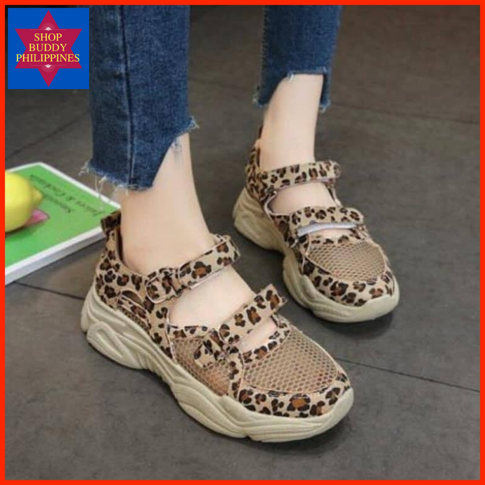 Maybelle Leopard Sandals