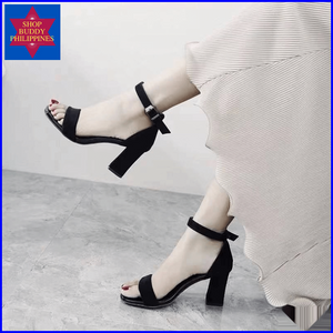 Lotlot Block Heel Sandals