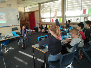 RUNSTEM kids program 3D games and have fun