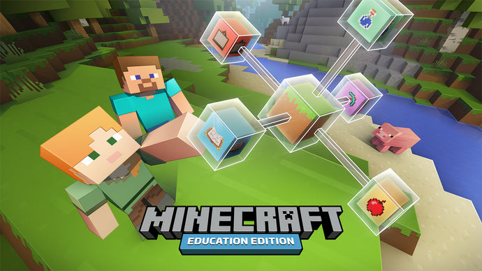 RUNSTEM Robotics and Coding School: Students can have fun and learn a lot in virtual world of Minecraft: Educational Edition.