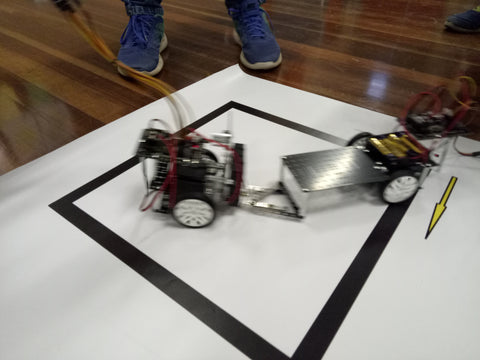 War robots at robotics competitions in Sydney