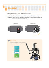 Detailed guides help to learn about robots and how to use robotics kit to build robot from scratch