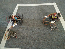 Battle bots built by our students at robotics class