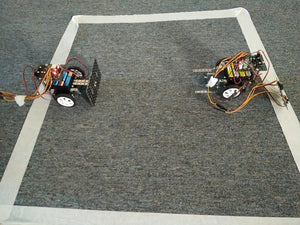 Battle robots are ready to start competition