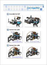 Detailed guide how to build a robot from RUNSTEM robotics kit and code it