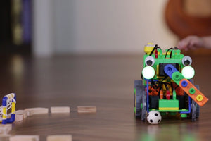 Kids will be building robots and learn STEM, logical thinking, communications and team work