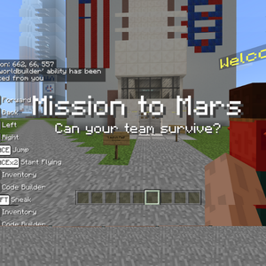 RUNSTEM Minecraft STEM Camp Mission to Mars