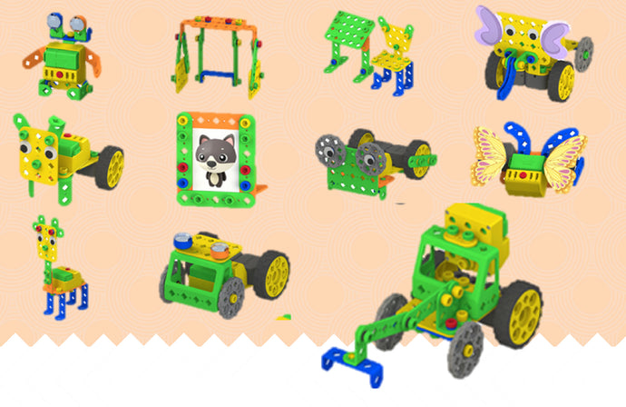 Coding Robotics Kit for Kids Step 1 to Learn robot programming and building