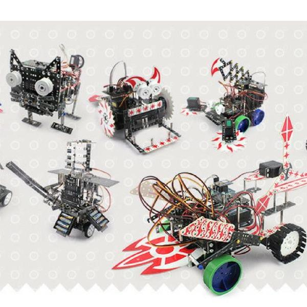 Robot Expert level projects for advanced students confident in robots building and coding
