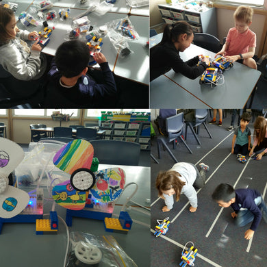 Robot Explorers stream of RUNSTEM robotics club