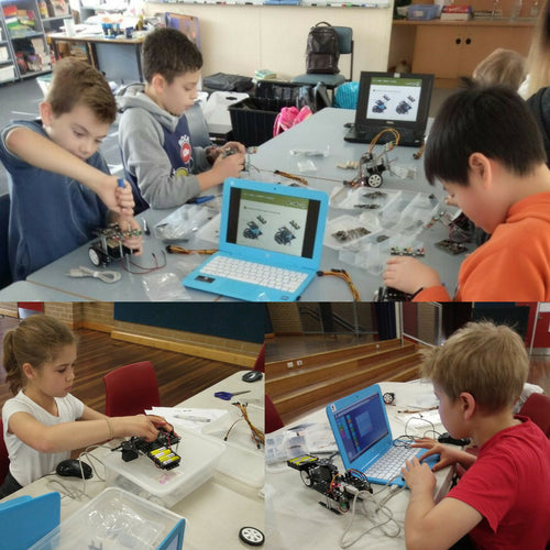 Robot Makers stream of RUNSTEM robotics club