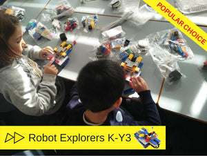 Robotics camp for kids during school holidays in Sydney to learn how to build robots and code