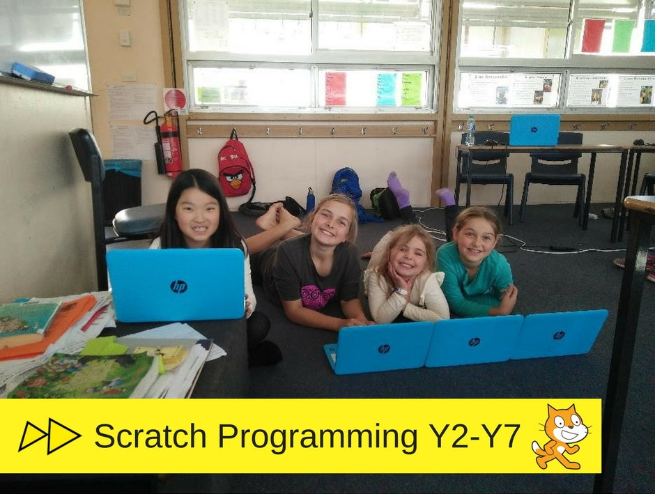 Scratch coding school holidays camp for kids in Sydney