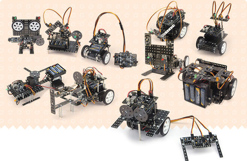 Robotics kit Step 1 robotics projects to learn building and coding robots