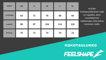 Feelshape Deadlift Petrol Naisten Legginsit