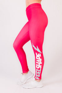 Feelshape Pink Fit Naisten Legginsit