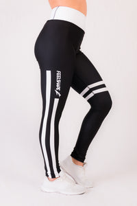 Feelshape White Stripe Naisten Legginsit