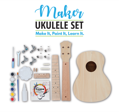 Maker Ukulele Course - Instrument + 12 Lessons