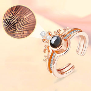 """I love you"" in 100 Languages Ring"