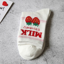 Load image into Gallery viewer, Japanese Fruity Milk Socks