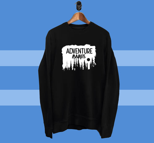 Adventure Awaits - Sweatshirt