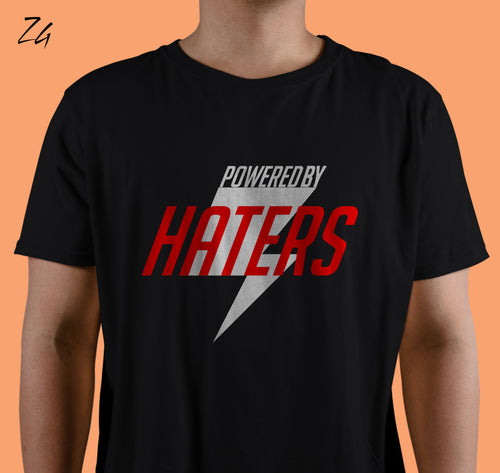 Powered By: Haters - Tshirt