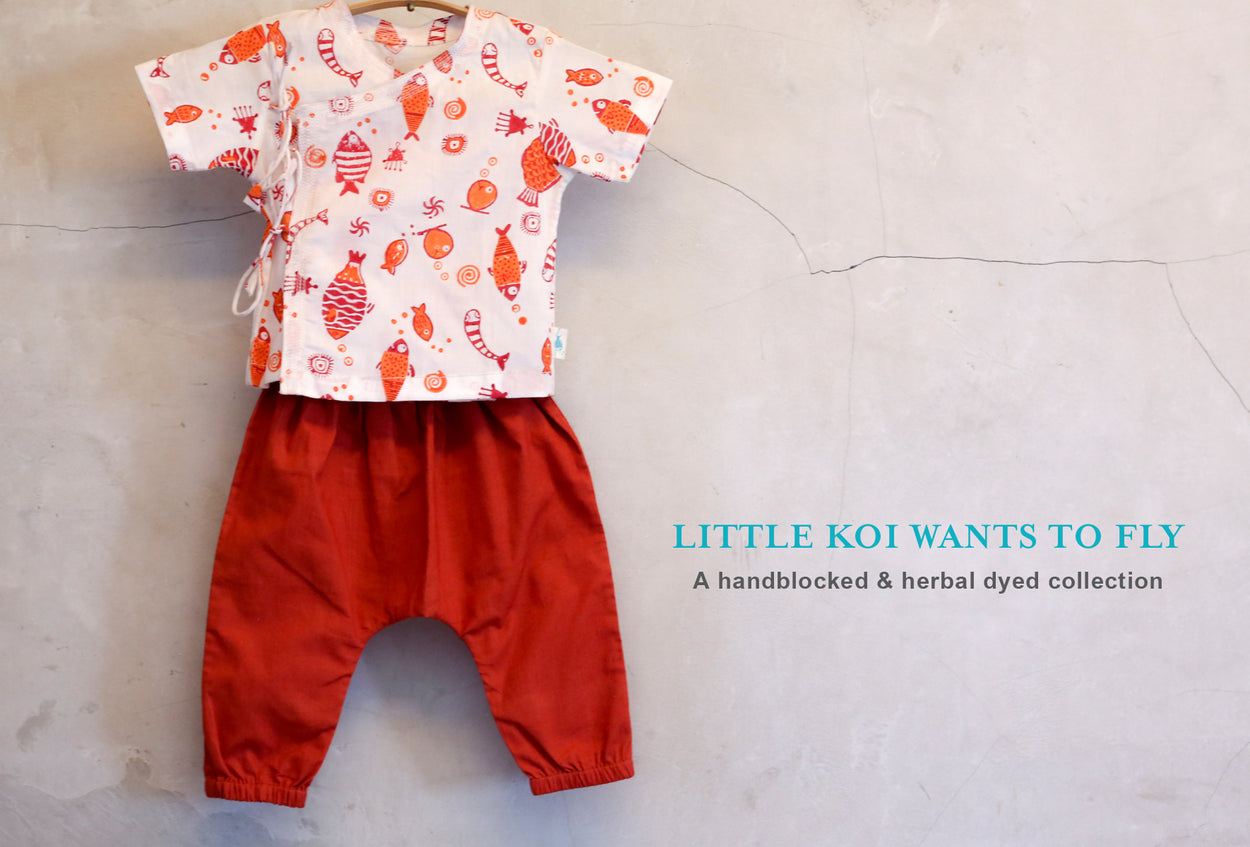 Little Koi wants to Fly