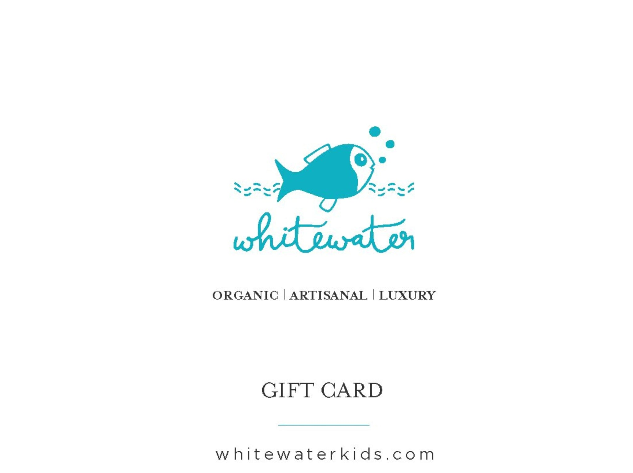 E-Gift Card - Whitewater
