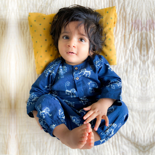 Organic Cotton Zoo Kurta Top