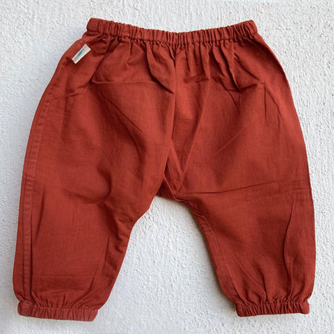 Organic Cotton Patang Red Pajama Pants