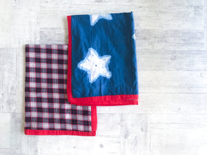 Tara Baby Blanket - Whitewater