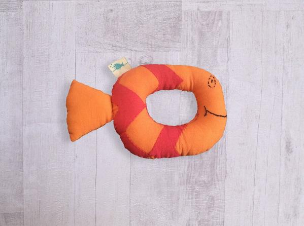 Koi Bag - Swaddle and Teether - Whitewater