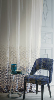 Coryphee - Extra wide Printed ombre voiles