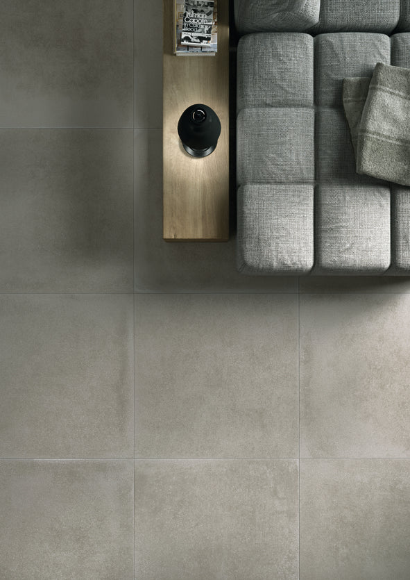Matt Concrete-effect Porcelain tiles