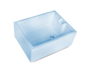 Hand made tradional belfast sinks for kitchen or laundry rooms - light blue